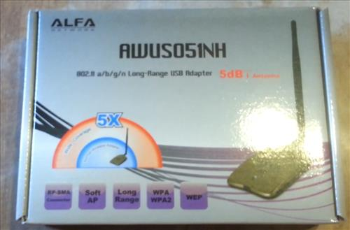 Alfa AWUS051NH  unboxing