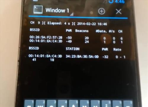 Wireless Pen Testing With a Android Using a Wireless USB Adapter