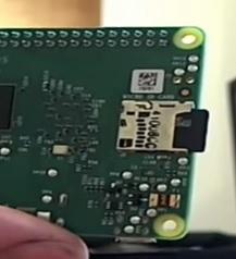Raspberry Pi 2 sd card install