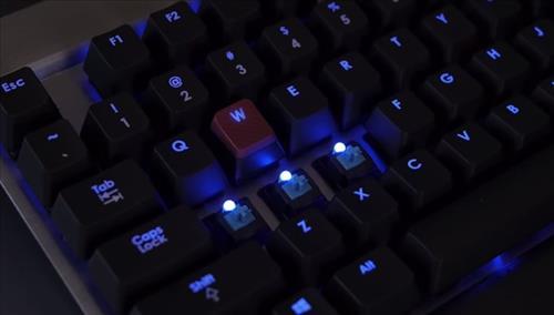 Best Wireless Mechanical Keyboard 2015 Cherry MX Blue