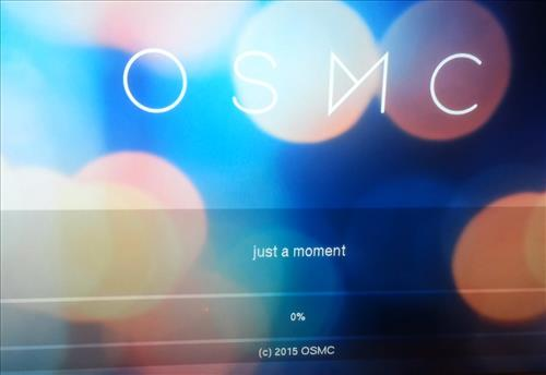 OSMC Kodi install rasbmc raspberry pi model 2 boot up