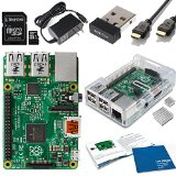 Raspberry Pi  rev 2 model B top starter kits overview and breakdown