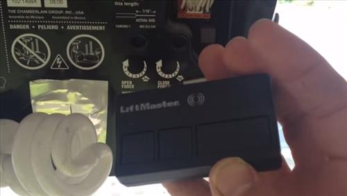 How To Replace A Lost Wireless Garage Door Opener Remote Control