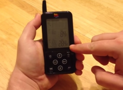 programmable remote digital meat cooking thermometer