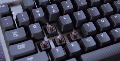 wireless mechanical keyboard Cherry MX Brown switch