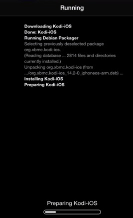 preparing kodi ios