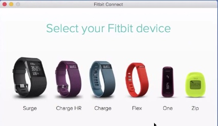 fitbit usb dongle setup