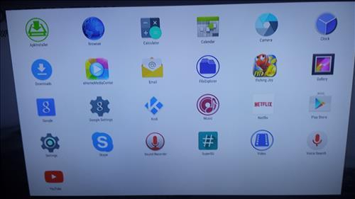 Kodi IBox Main Screen
