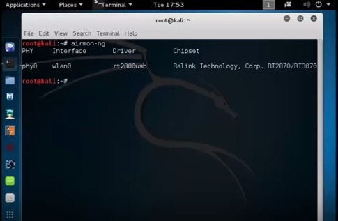 Kali Linux 2.0 Compatible USB Adapter Test Windows 10