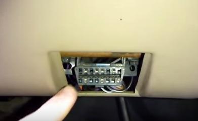 OBD2 scan tool conector location