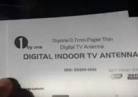 Review Digital Indoor Amplified HDTV Antenna