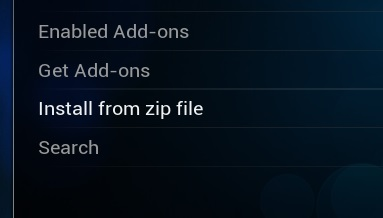 Kodi Install From Zip File