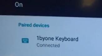 Paring Kodi to a Bluetooth Keyboard