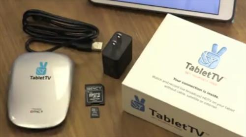 review tablet tv plus ota tv tuner for tablets usa wirelesshack. Black Bedroom Furniture Sets. Home Design Ideas