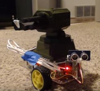 Raspberry Pi Robot Kits 2016 Play Missile System