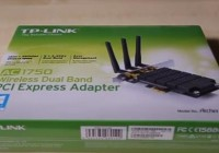 Review TP-LINK Archer T8E AC1750 Dual Band Wireless PCI Express Adapter