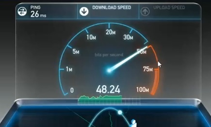TP Link AC450 Archer T1U  Speed Test