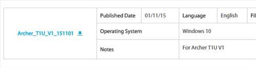 Tp Link AC450 Archer T1U reviews on Windows 10