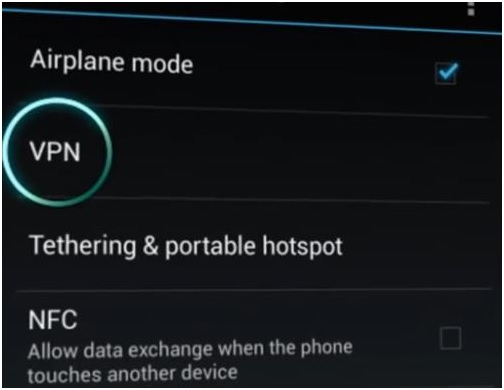 VPN on Android Phone