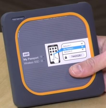 Best Wireless External Hard Drives WD My Passport SSD