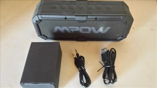 Mpow Armor Plus Bluetooth 4.0 Portable Ipx5 Waterproof Wireless Speaker Review