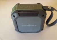 Review Seedforce S100 Outdoor & Shower 5W Bluetooth 4.1 Speaker