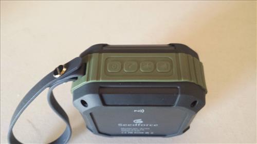 Seedforce S100 Outdoor & Shower 5W Bluetooth 4.1 Speaker Build Quality
