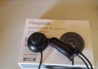 Review Regetek Bluetooth 4.0 Hands-free Car Kit Music Audio Receiver Speakerphone