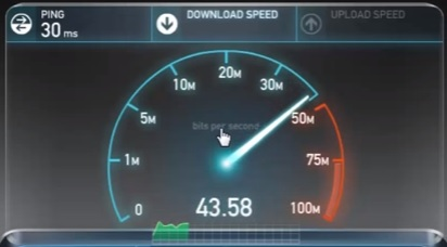 Review TP-LINK TL-WN722N Speed Test