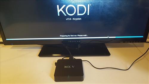 Review Cheap KODI Box MX V S905 Android TV 2GB RAM 2017 Kodi 17.4