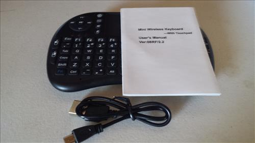 Review Touchpad for PC,Pad,XBOX 360,PS3,Google Android TV BOX,HTPD,IPTV with Removable lithium Battery