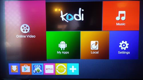 Android Kodi TV Box Boot