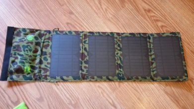 Best Portable Solar Panel Phone Charger while Camping