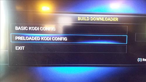 Preloaded Kodi