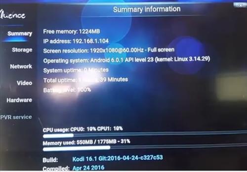 Mini M8S Budget Android Kodi Smart TV Box Suumary Information