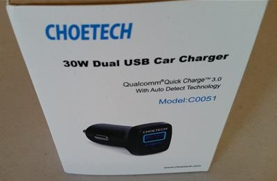 Review CHOETECH Low Cost Car USB 3.0 Charger