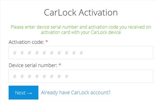 car-lock-activation