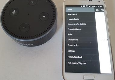 How To Pair Amazon Echo DOT to a Speaker