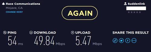 Review NET-DYN 300M Mini USB Dongle Speed Test 1