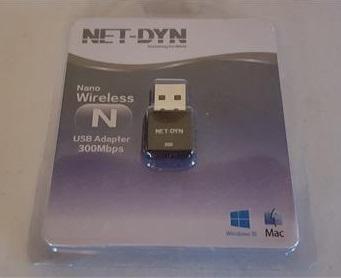 Review NET-DYN 300M Mini USB Wireless WiFi Adapter