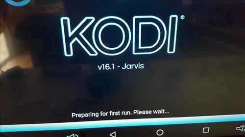 AKASO T95Z PLUS TV BOX Running Kodi