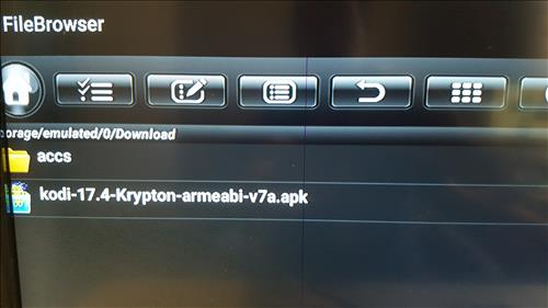How To Upgrade an Android TV Box to Kodi 17.4 Krypton File Browser