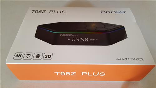 Review AKASO T95Z PLUS 4K S912 2GB Android TV Kodi BOX