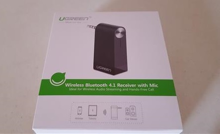 Review Ugreen 3.5mm Aux Bluetooth 4.1 Receiver with Speaker