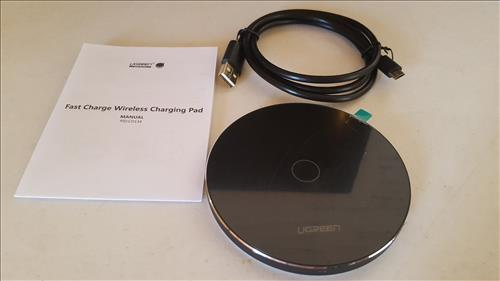 Review Ugreen QI Fast Wireless Charger Pad Overview