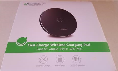 Review Ugreen QI Fast Wireless Charger Pad