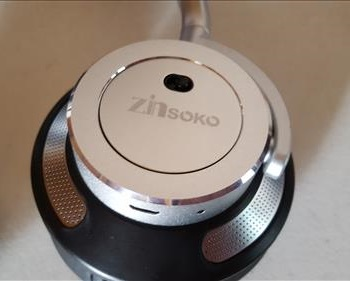 Review Zinsoko Z-H01 Bluetooth Headphone with Microphone Switch