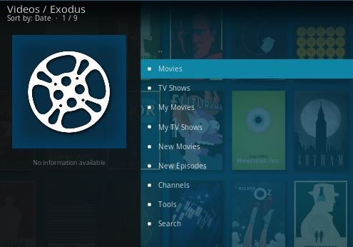 A Step By Step Guide To Kodi and Streaming Videos Exodus Pic 1