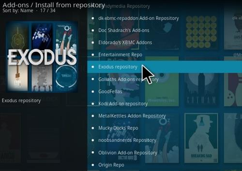 A Step By Step Guide To Kodi and Streaming Videos Exodus Pic 555