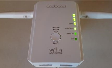Review dodocool N300 WiFi Extender RouterRepeaterAP Mode conecting